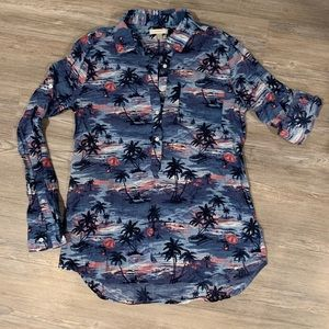 J. Crew Women's Hawaiian Shirt